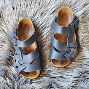 Birkenstock Navy Blue Sandals